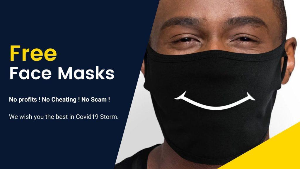 Free Mask Banner 2 - Aggretsuko Merch