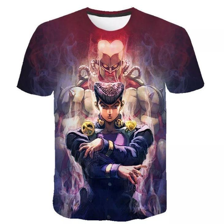 JJBA custom tshirt - Aggretsuko Merch