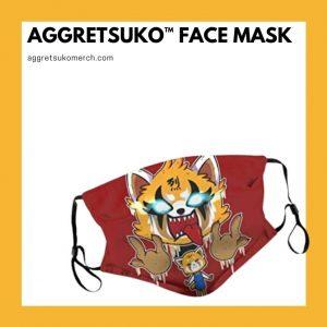 Aggretsuko Face Masks
