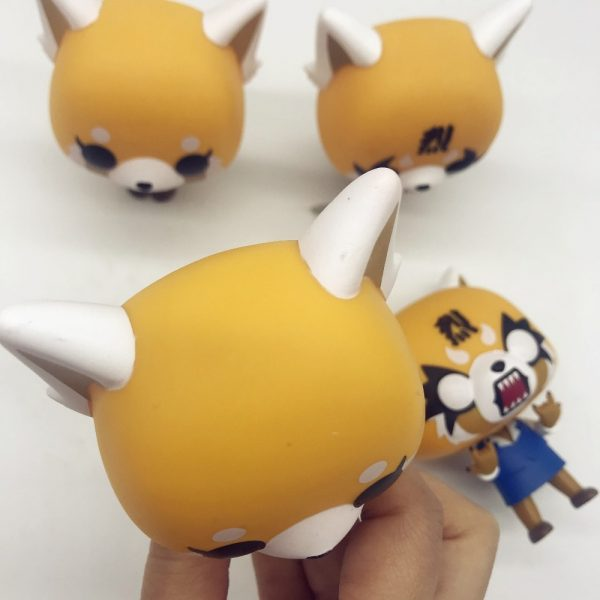 Aggretsuko Rage Chainsaw Date Night reative cartoon figurine Vinyl Action Collectible Model Toy for gift 2 - Aggretsuko Merch