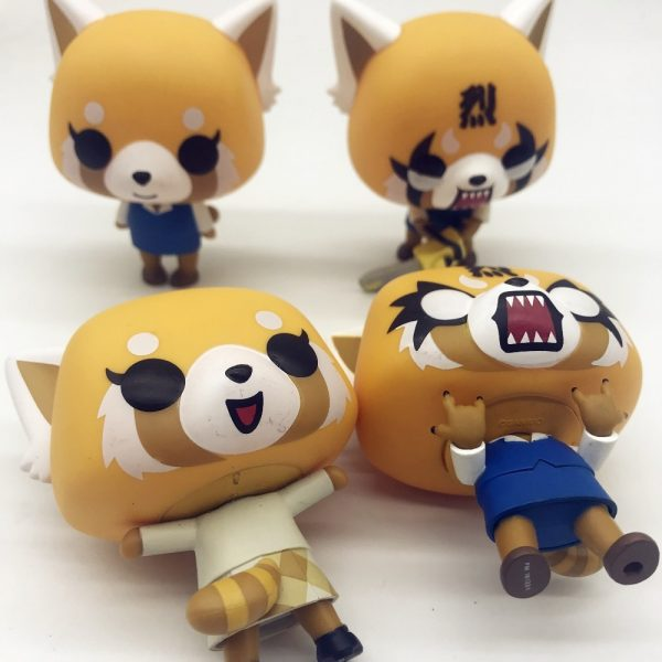 Aggretsuko Rage Chainsaw Date Night reative cartoon figurine Vinyl Action Collectible Model Toy for gift 5 - Aggretsuko Merch
