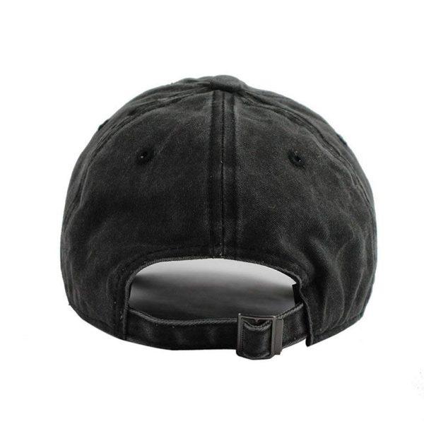 Aggretsuko Retsuko Baseball Caps Mens Womens Camping Adult Adjustable Trucker Dad Hats Cowboy Hat Casquette Black 2 - Aggretsuko Merch