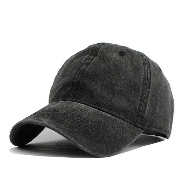 Aggretsuko Retsuko Baseball Caps Mens Womens Camping Adult Adjustable Trucker Dad Hats Cowboy Hat Casquette Black 3 - Aggretsuko Merch
