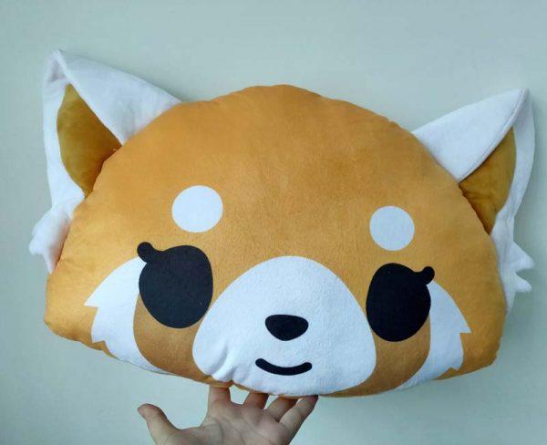 Japan Aggretsuko Aggressive Retsuko Plush Toy Stuffed Doll Pillow Children Kids Gift 1 - Aggretsuko Merch