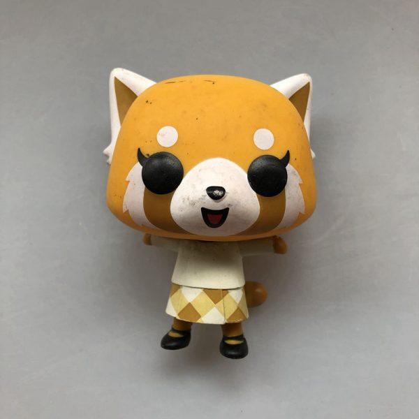 Original Funko pop Secondhand Sanrio Aggretsuko Retsuko with Chainsaw Vinyl Action Figure Collectible Model Loose Toy 4 - Aggretsuko Merch