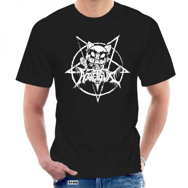 T Shirt 100 Cotton O Neck Custom Printed Tshirt Men Blackggretsuko Aggretsuko Women 8757W - Aggretsuko Merch