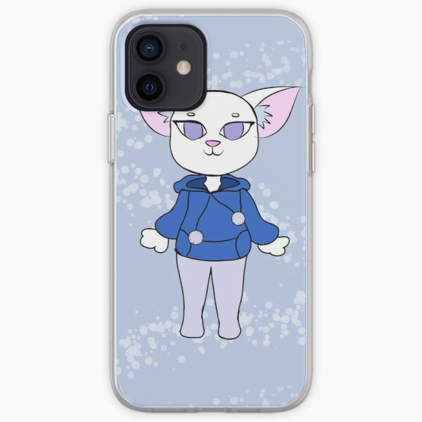 Cool Kitty iPhone Soft Case RB2204product Offical Aggretsuko Merch