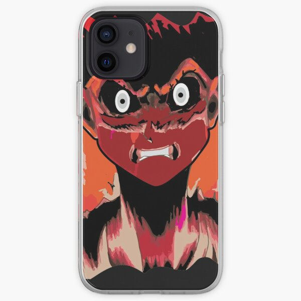 Anime rage zombie caracter emotion iPhone Soft Case RB2204product Offical Aggretsuko Merch