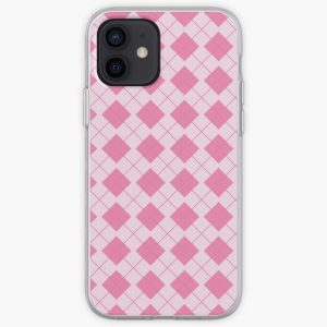 Aggretsuko in love bed pattern iPhone Soft Case RB2204product Offical Aggretsuko Merch