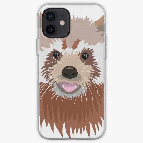 Red panda iPhone Soft Case RB2204product Offical Aggretsuko Merch