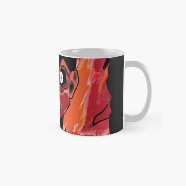 Anime rage zombie caracter emotion Classic Mug RB2204product Offical Aggretsuko Merch