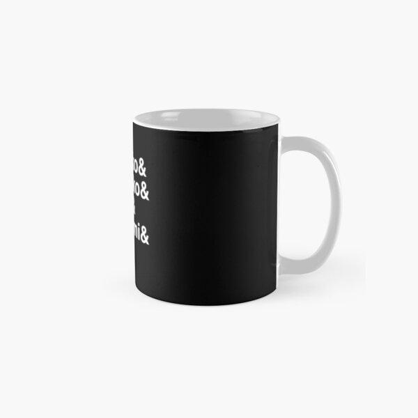aggretsuko line up Classic Mug RB2204product Offical Aggretsuko Merch
