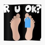 Are you ok are you ok gift Poster RB2204product Offical Aggretsuko Merch