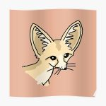 Fennec Fox 3 Poster RB2204product Offical Aggretsuko Merch