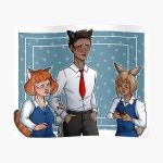 Break Time Poster RB2204product Offical Aggretsuko Merch