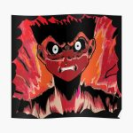 Anime rage zombie caracter emotion Poster RB2204product Offical Aggretsuko Merch