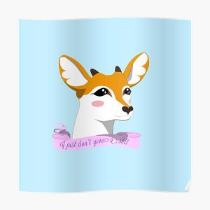Sweet Tsunoda  Poster RB2204product Offical Aggretsuko Merch
