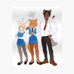 Aggretsuko! Poster RB2204product Offical Aggretsuko Merch