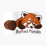 BoRed Panda v2 Poster RB2204product Offical Aggretsuko Merch