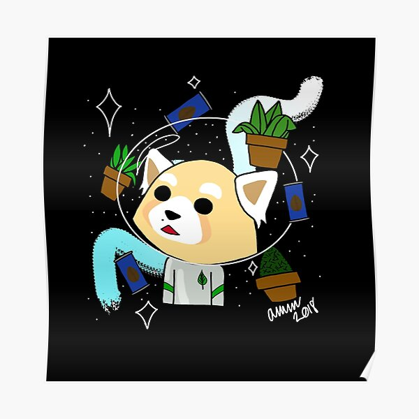 Space Cadet Poster RB2204product Offical Aggretsuko Merch