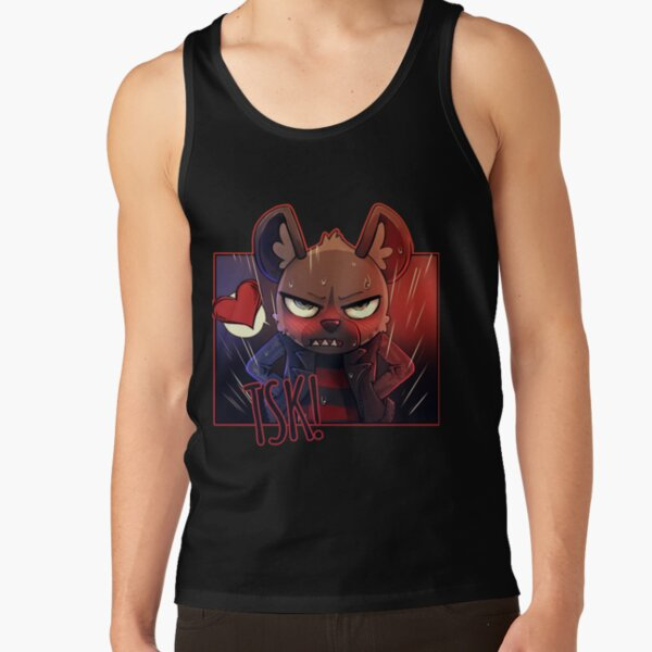 TSK!  Tank Top RB2204product Offical Aggretsuko Merch