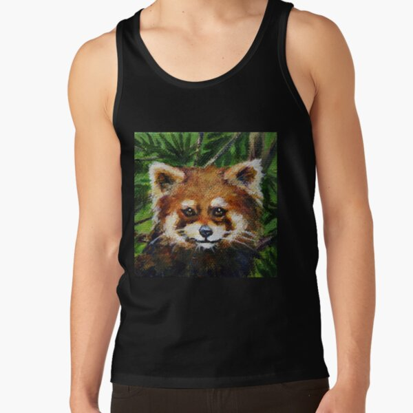 Red Panda Tank Top RB2204product Offical Aggretsuko Merch