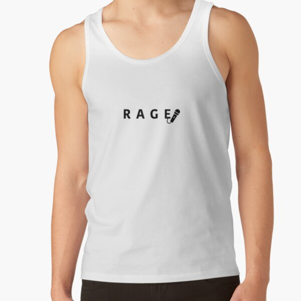 RAGE (big)  Tank Top RB2204product Offical Aggretsuko Merch