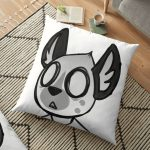 Aggretsuko Floor Pillow RB2204product Offical Aggretsuko Merch