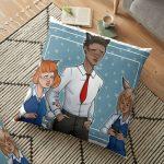 Break Time Floor Pillow RB2204product Offical Aggretsuko Merch