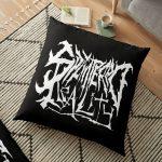 Splintered Reality Nerd Rock Logo Floor Pillow RB2204product Offical Aggretsuko Merch