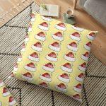 Copie de BoRed Panda v2 Floor Pillow RB2204product Offical Aggretsuko Merch