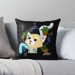 Space Cadet Throw Pillow RB2204product Offical Aggretsuko Merch