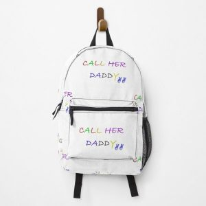 Call Her Daddy Quote Backpack RB2204product Offical Aggretsuko Merch