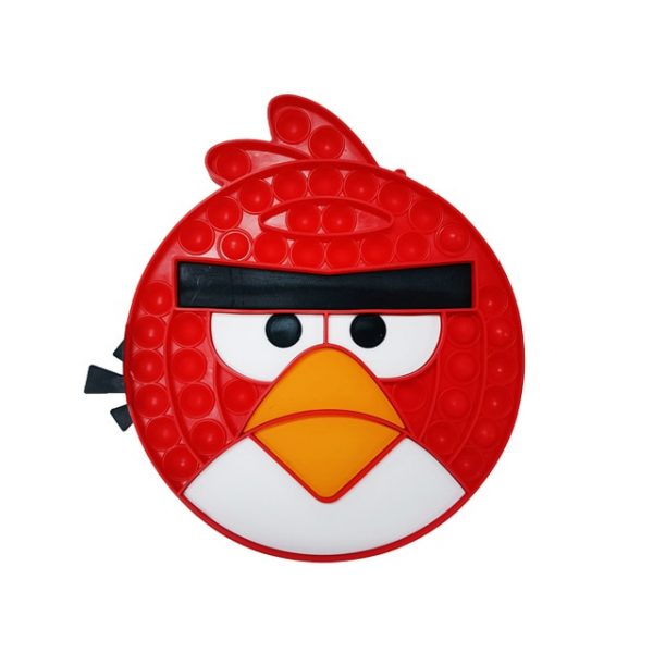 angry bird red pop it fidget toy simple dimple - Aggretsuko Merch